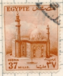Stamps : Africa : Egypt :  palacio
