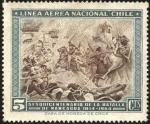 Stamps Chile -  Sesquicentenario de la batalla de Rancagua.