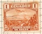 Sellos del Mundo : America : Ecuador : aereo