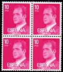 Stamps Spain -  1977 B4 Juan Carlos I Edifil 2394