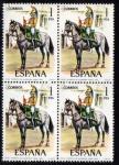 Sellos de Europa - España -  1976 B4 Uniformes Militares: Trompeta Rgmto. de linea Alcantara 1815 Edifil 2350