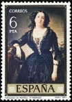 Stamps Spain -  ESPAÑA 1977 2433 Sello Nuevo Pintor Federico Madrazo Marquesa de Montelo