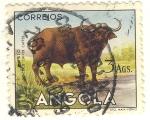 Stamps Africa - Angola -  Bufalo
