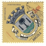 Stamps Africa - Angola -  escudo