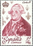 Stamps of the world : Spain :  ESPAÑA 1978 2500 Sello Nuevo Reyes de España Casa de Borbon Carlos IV