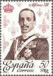 Sellos de Europa - España -  ESPAÑA 1978 2504 Sello Nuevo Reyes de España Casa de Borbon Alfonso XIII