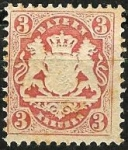 Stamps Germany -  Baviera