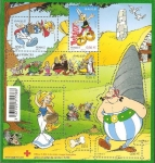 Stamps Europe - France -  H.B. asterix
