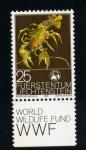 Sellos de Europa - Liechtenstein -  astacus astacus
