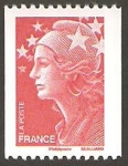 Stamps France -  4240 - marianne de beaujard