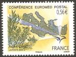 Stamps France -  conferencia euromed