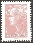 Sellos de Europa - Francia -  4343 - marianne de beaujard
