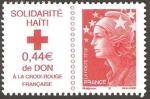 Stamps France -  Solidaridad con Haití, Marianne de Beaujard