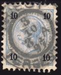 Sellos del Mundo : Europa : Austria : 1890 Kaiser, valor sello en Kreuzer