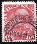 Sellos del Mundo : Europa : Austria : 1908 60 Aniversario del reinado de Francisco Jose I