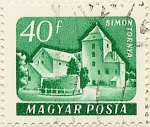 Stamps Hungary -  SIMON TORNYA