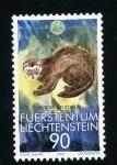 Stamps Liechtenstein -  serie- Protección de la Naturaleza