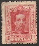 Stamps Spain -  313 - alfonso XIII