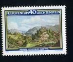 Stamps Liechtenstein -  moritz menzinger 1832-1914