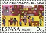 Sellos de Europa - España -  ESPAÑA 1979 2519 Sello Nuevo Año Internacional del niño Dibujo infantil