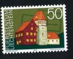 Stamps Liechtenstein -  serie- Edificios característicos