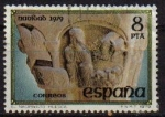 Sellos de Europa - España -  ESPAÑA 1979 2550 Sello Navidad. San Pedro el Viejo (Huesca). El Nacimiento Usado