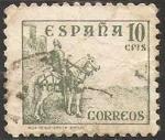 Stamps Europe - Spain -  817 - El Cid