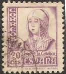 Stamps Europe - Spain -  821 - isabel la catolica