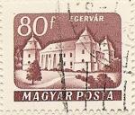 Sellos de Europa - Hungría -  EGERVAR
