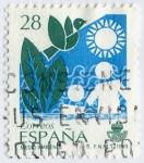 Stamps Spain -  Servicios públicos