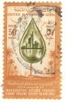 Stamps Africa - Libya -  Inaguración terminal