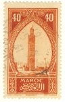 Stamps Morocco -  Marrakech