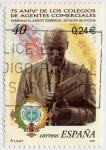 Stamps : Europe : Spain :  Colegios de agentes comerciales