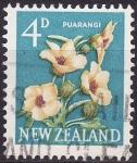 Stamps New Zealand -  Puarangi