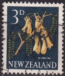 Sellos de Oceania - Nueva Zelanda -  Kowhai