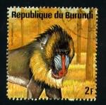 Stamps Africa - Burundi -  serie- Animales africanos