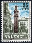 Sellos de Europa - España -  PLAN SUR DE VALENCIA - Torre de Santa Catalina
