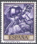 Stamps Spain -  1710 Pintor Jose Maria Sert. La bola Mágica.