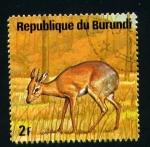 Sellos del Mundo : Africa : Burundi : serie- Animales africanos