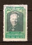 Stamps America - Dominican Republic -  MONSEÑOR  ADOLFO  ALEJANDRO  NOUEL