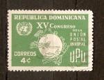 Stamps Dominican Republic -  CONGRESO  UPU