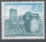 Sellos de Europa - España -  1740 Castillos de España. La Mota, Medina del campo. Valladolid.