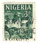 Sellos del Mundo : Africa : Nigeria : artesano