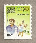 Stamps Guinea Bissau -  Olimpiadas de Los Angeles 1932