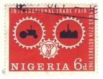 Sellos del Mundo : Africa : Nigeria : feria internacional de Lagos