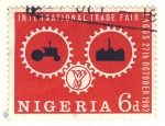Stamps Africa - Nigeria -  feria internacional de Lagos