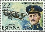 Sellos de Europa - España -  ESPAÑA 1980 2598 Sello Nuevo Pioneros aviación Alfredo Kindelan Duany Yvert2232 Scott2228