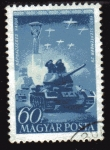 Stamps Hungary -  1951 Dia del Ejercito Popular