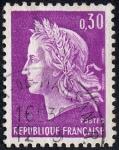 Stamps France -  efigie