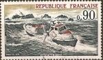 Stamps France -  Salvataje en mar